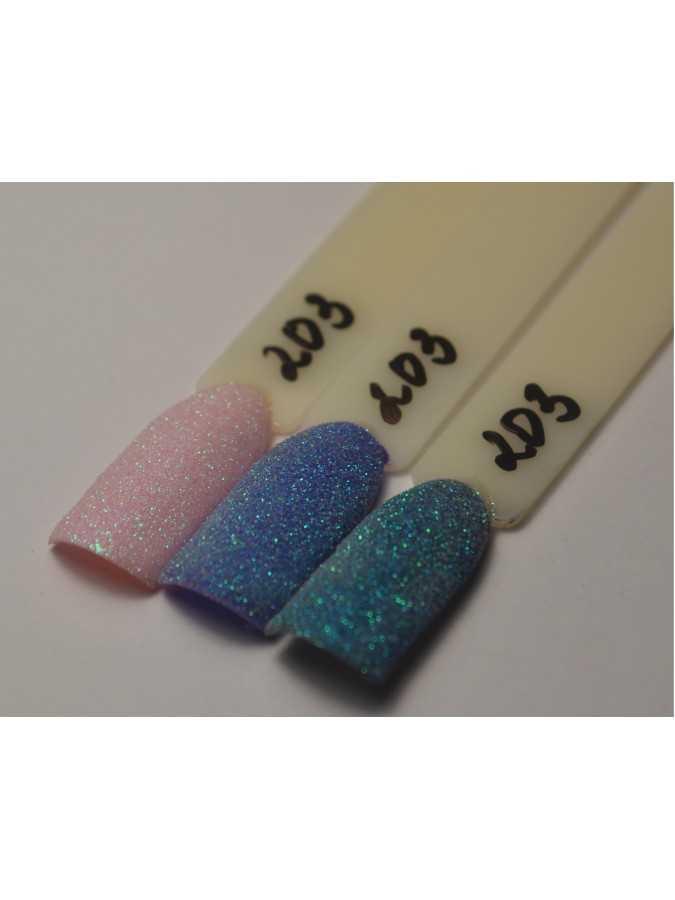 Блестки микро 0,05 мм голубые 203