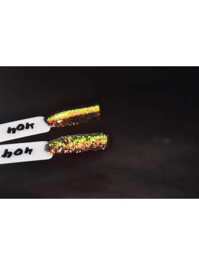 Блестки 0,4 мм хамелеон золото-зеленый 404