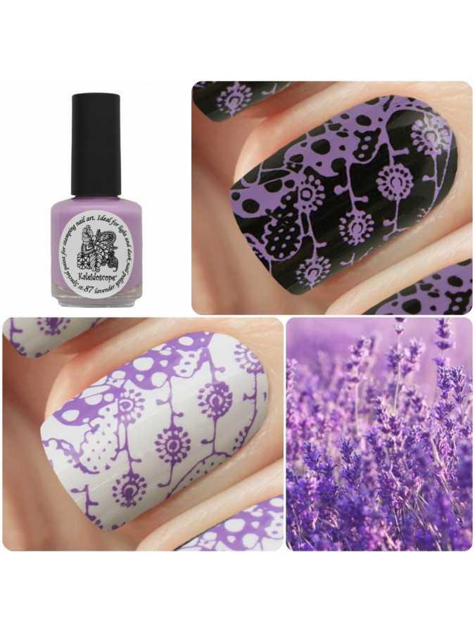Лак для стемпинга st-87 Lavender