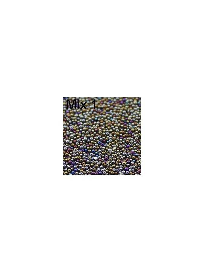 Бульонки пластик MIX 1 (2,5г) 0,6 мм