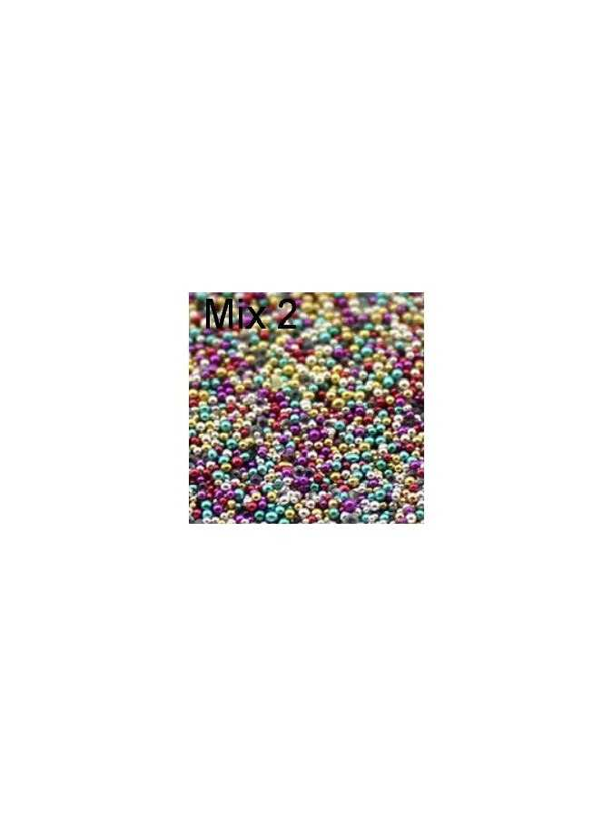 Бульонки пластик MIX 2 (2,5г) 0,6 мм