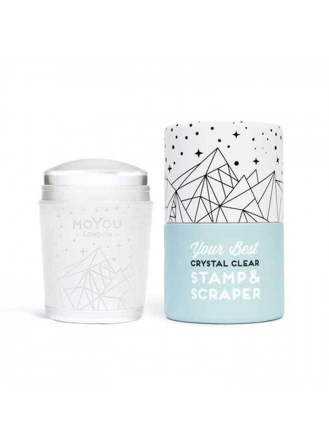 Прозрачный штамп Crystal Clear MoYou London