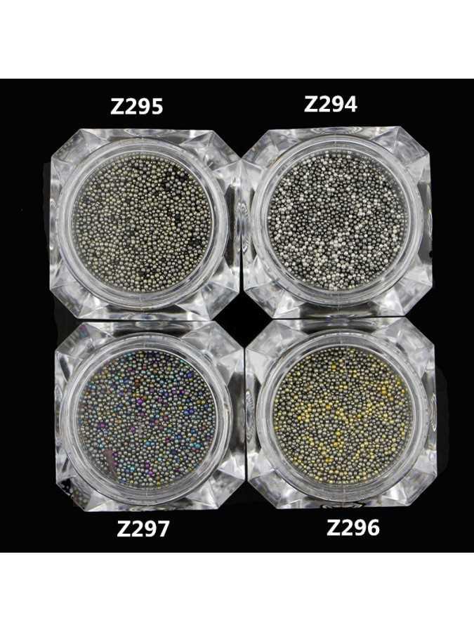 Бульонки стекло MIX 95 (10 г) 0,6 мм