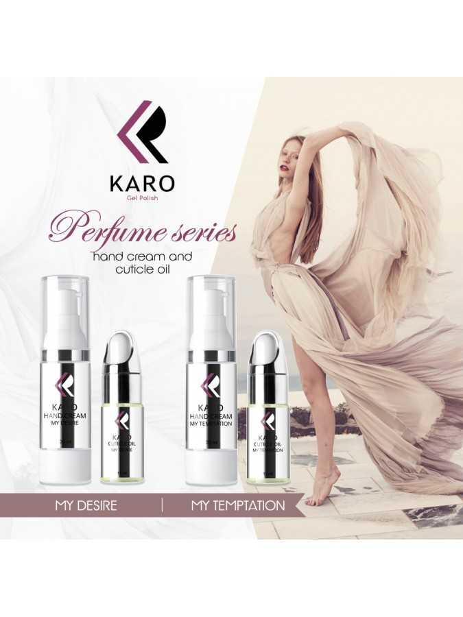 Парфюмированный крем для рук KARO My Temptation