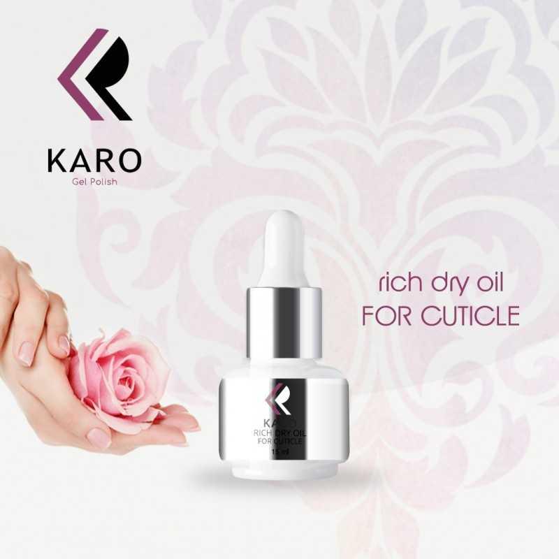 Сухое масло для кутикулы KARO Rich dry oil