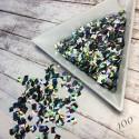 Квадраты 3D голография 100