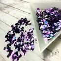 Квадраты 3D фиолетовый хамелеон 2208