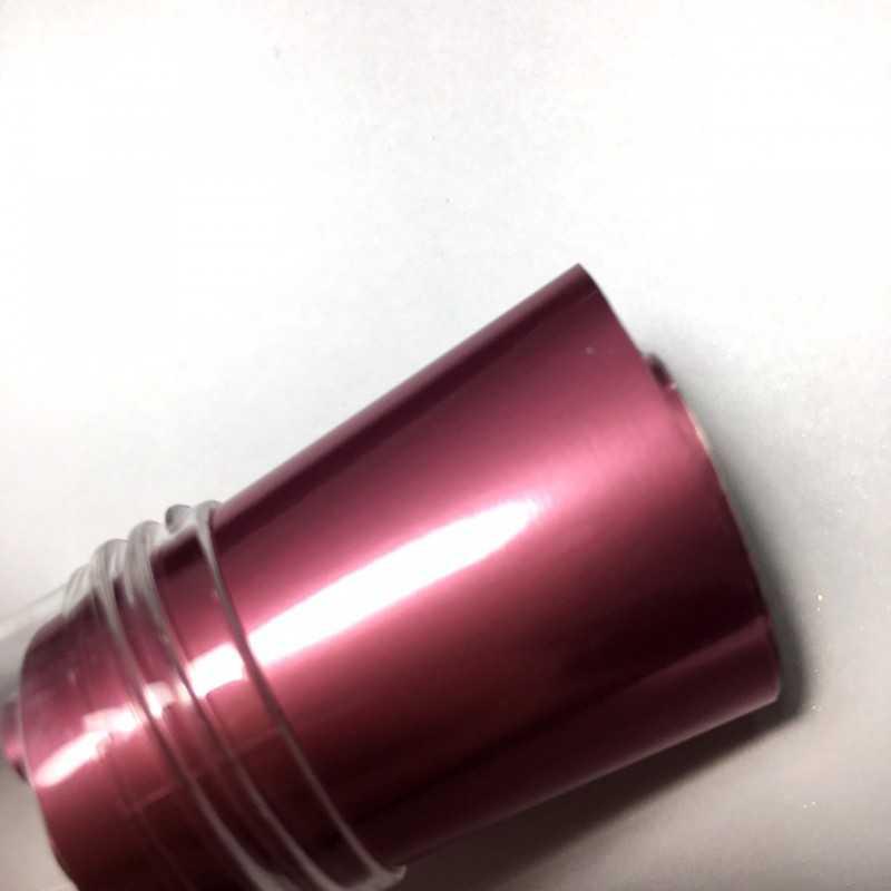Фольга переводная матовая розовая