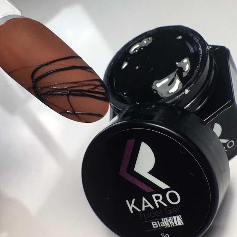 Spider gel Black Karo