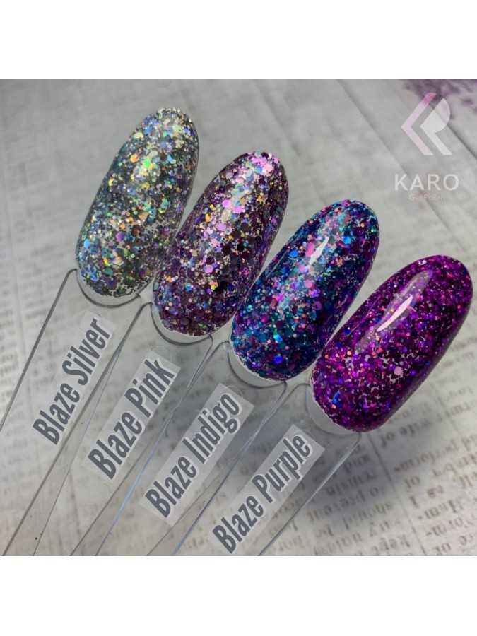 Гель-блестки Blaze Purple
