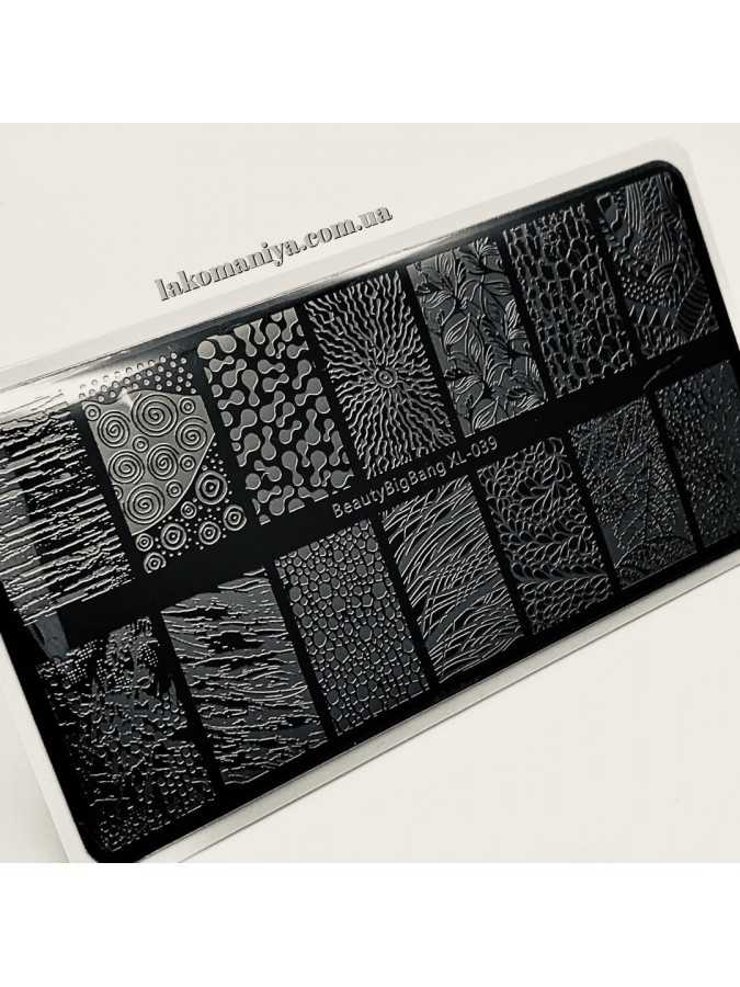 Пластина для стемпинга Uprettego JR-113