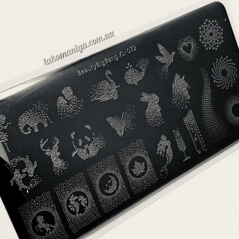 Пластина для стемпинга Beauty Bigbang XL-072