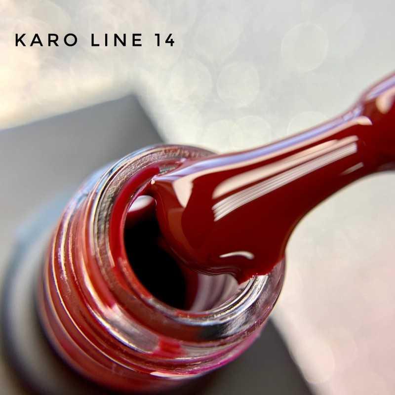 Гель лак Karo Line 14