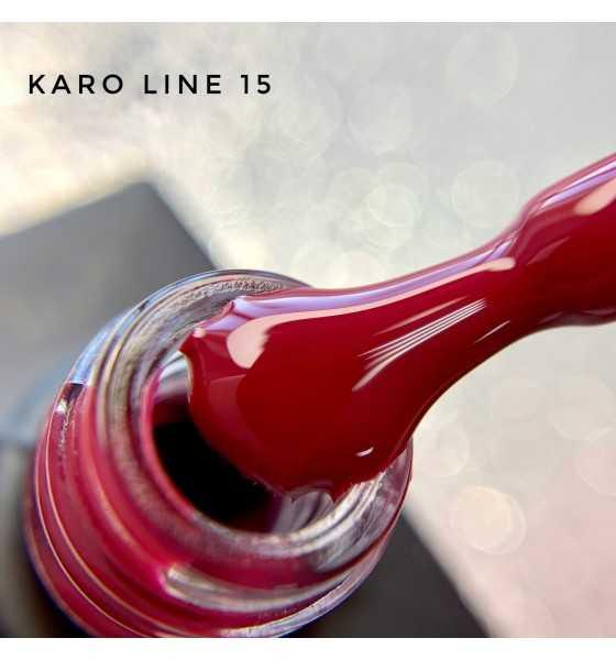 Гель лак Karo Line 15