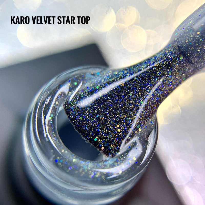 Матовый топ Velvet Star KARO
