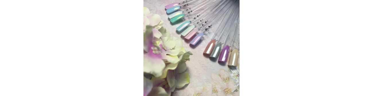 Пигмент для ногтей Хамелеон — купить пигменты для дизайна ногтей   Lakomaniya