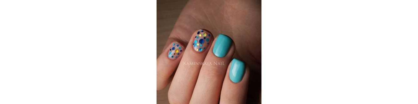 Конфетти для дизайна ногтей — купить в интернет магазине, цена, фото   Lakomaniya