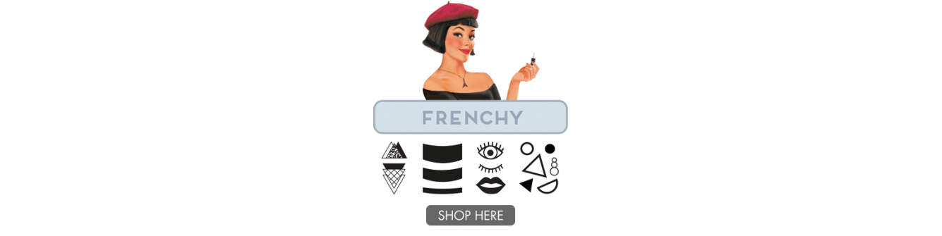 Frenchy Plate Collection 01, MoYou-London