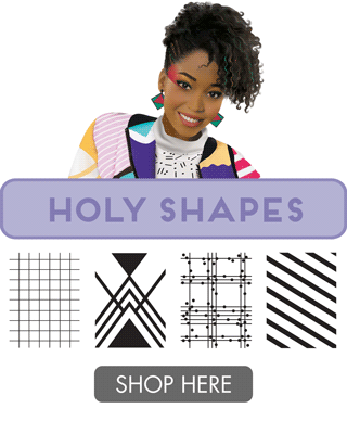 Holy Shapes Plate Collection