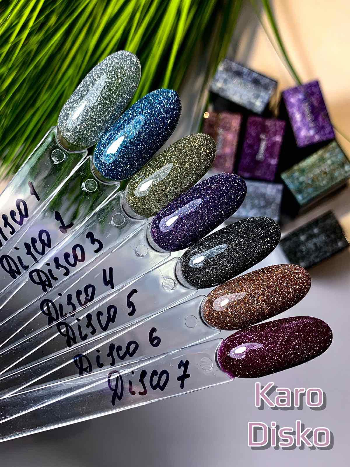 Светоотражающий гель лак Karo Disco