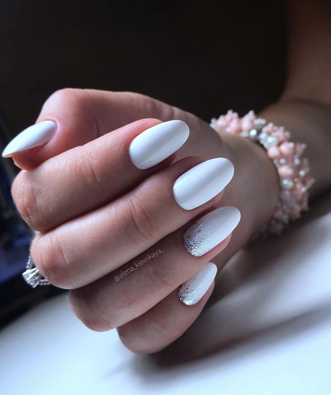 Белый и черный гель лак Karo